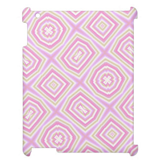 light multicolored pink case for the iPad
