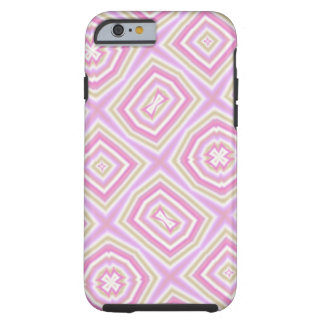 light multicolored pink tough iPhone 6 case