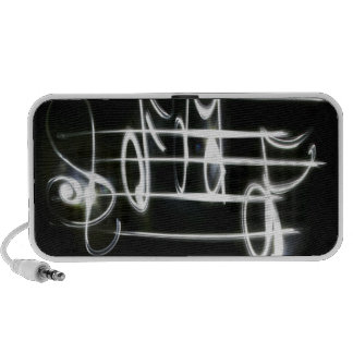 Light Music Notes Laptop Speakers