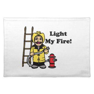 Light My Fire Cloth Place Mat