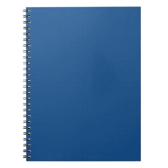 Light Navy Blue Notebook