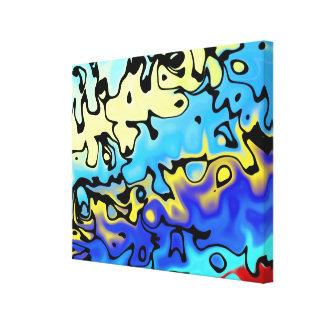 """Light not Falling 7.51"" Canvas Print"