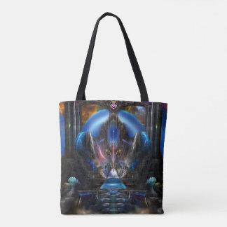Light Of Ancient Wisdom Tote Bag