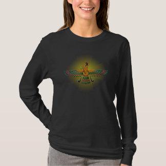 'Light of Farvahar' Ladies Long Sleeve T-Shirt