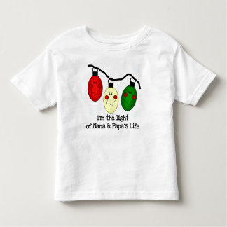 Light of Nana and Papa's Life Toddler T-Shirt