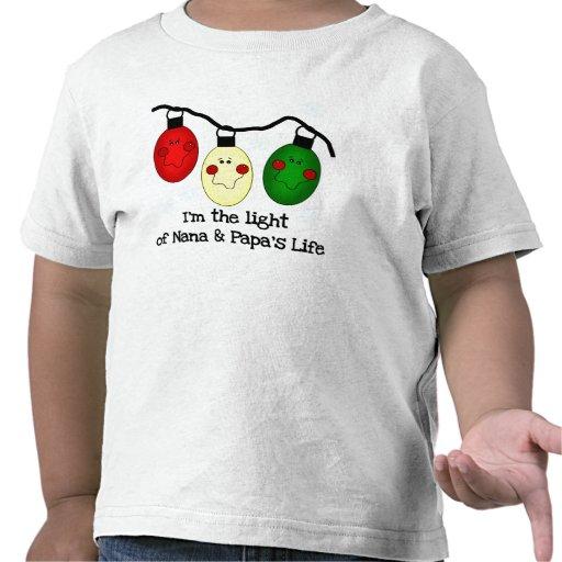 Light of Nana and Papa's Life Tee Shirt