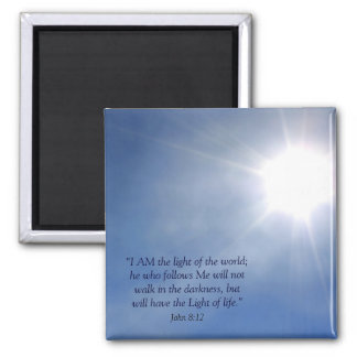 Light of the World Christian Magnet