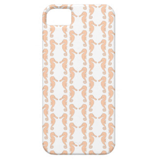 Light Orange Seahorse Pattern iPhone 5 Cover