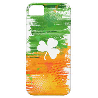 Light Paddy Lucky Clovers & Ink Case For The iPhone 5