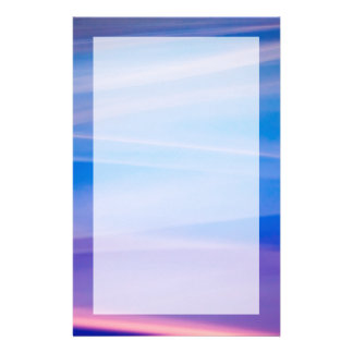 Light painting abstract color trails stationery