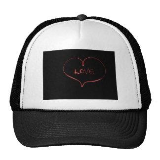 Light Painting Heart Cap