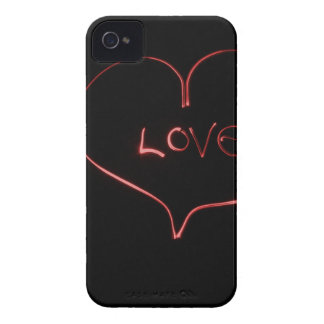 Light Painting Heart iPhone 4 Cover