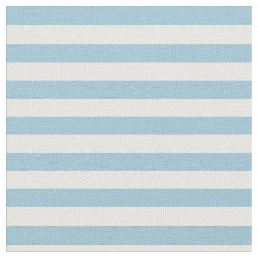 Light Pastel Blue Amp White Striped Fabric Zazzle Co Uk
