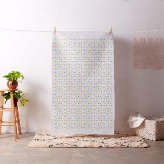 Light pastel watercolor dots fabric