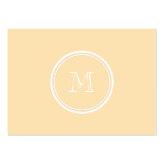 Light Peach High End Colored Pack Of Chubby Business Cards