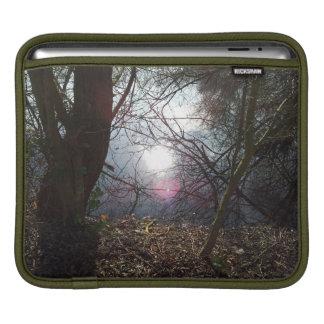 """Light Peeks Through the Trees and Says """"Hello"""" iPad Sleeve"""