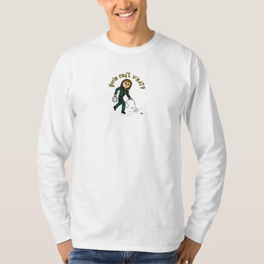 Light Pest Control Girl T-Shirt