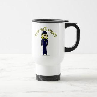 Light Pilot Girl Mug