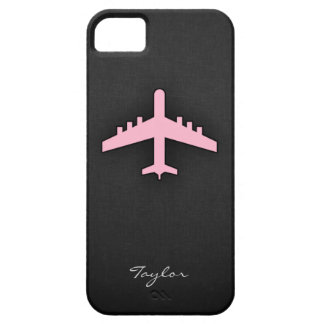 Light Pink Airplane iPhone 5 Cover