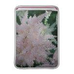 """Light Pink Astilbe Flowers 13"""" macBook Sleeve"""