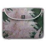 """Light Pink Astilbe Flowers 15"""" Macbook Sleeve Sleeves For MacBooks"""