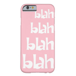Light Pink Blah   iPhone 6 case Barely There iPhone 6 Case