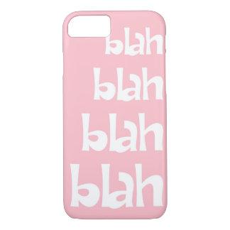 Light Pink Blah   iPhone 7 case