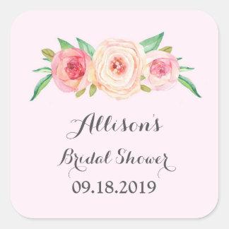 Light Pink Bridal Shower Favor Tag