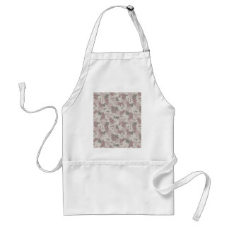 Light Pink Camouflage Standard Apron