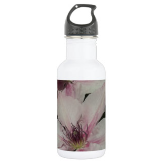 Light Pink Clematis Blossom 532 Ml Water Bottle