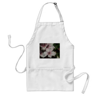 Light Pink Clematis Blossom Adult Apron