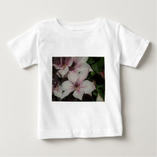 Light Pink Clematis Blossom Baby T-Shirt