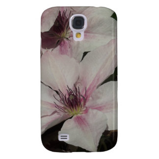 Light Pink Clematis Blossom Samsung Galaxy S4 Cases