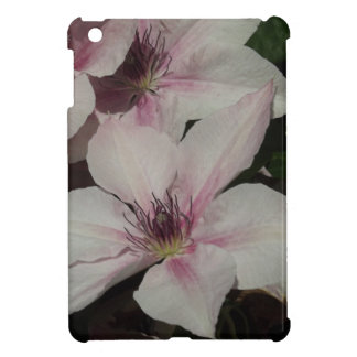 Light Pink Clematis Blossom Cover For The iPad Mini