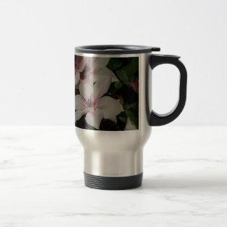 Light Pink Clematis Blossom Coffee Mug