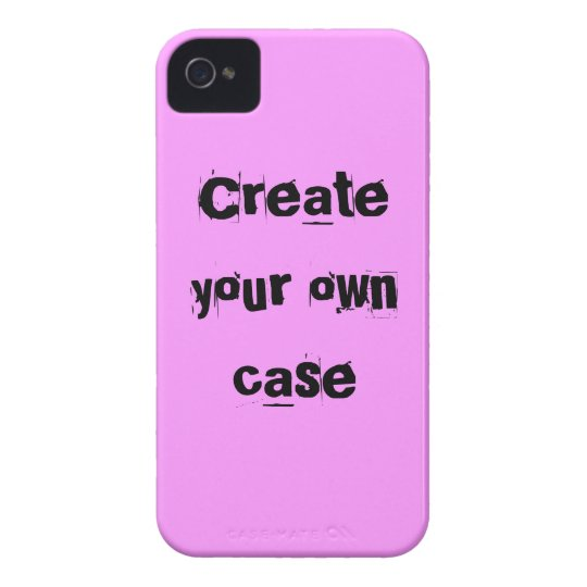 Light pink Create Your Own Case