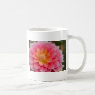 Light Pink Dahlia Mugs