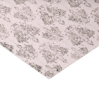 Light Pink Damask Tissue Paper