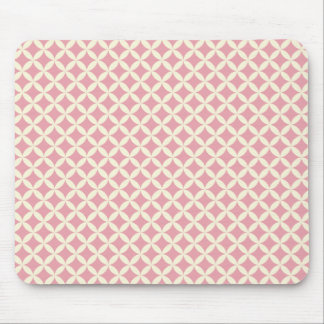 Light Pink Diamonds Mouse Pad