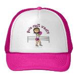 Light Pink Female Boxing Trucker Hat