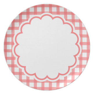 Light Pink Flower Plate