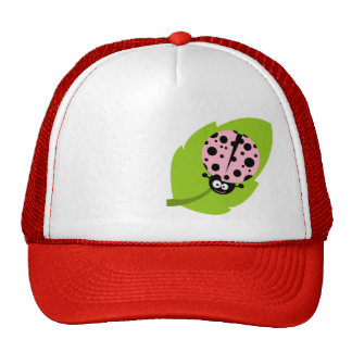 Light Pink Ladybug Hat