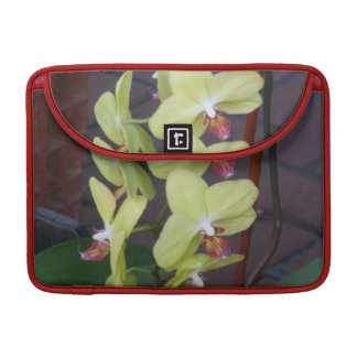 Light Pink Orchids MacBook Pro Sleeves
