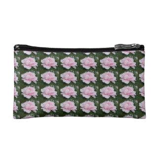 Light Pink Peony Blooming Bag Cosmetics Bags