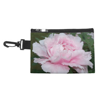 Light Pink Peony Clip-On Accessory Bags