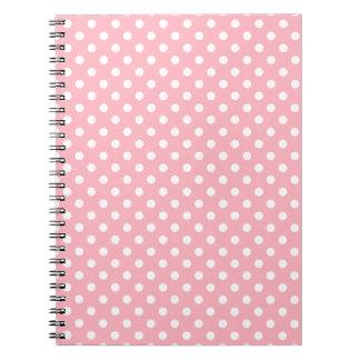 Light Pink Polka Dots Notebook