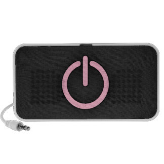 Light Pink Power Button iPhone Speakers