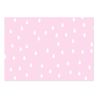Light pink rain pattern. White and pink. Business Card Templates