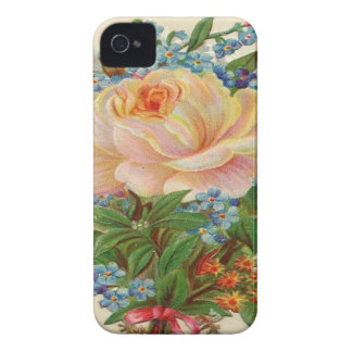 Light Pink Rose iPhone 4 Case-Mate Case