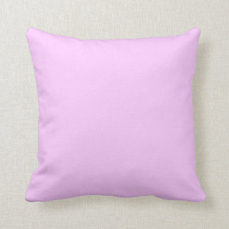Light Pink Solid Pink Background Lavender Lilac Cushion